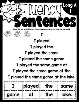 Fluency With Silent E Magic E
