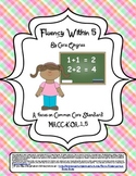 Fluency Within 5 - Common Core
