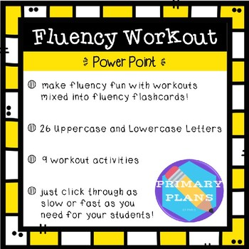 Fluency Workout - Letter Recognition