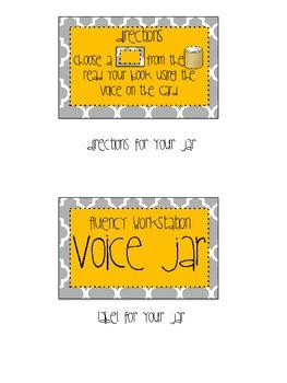 Fluency Workstation Voice Jar with 18 Emotions