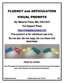 Fluency and Articulation Visual Prompts