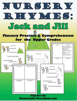 Nursery Rhymes: Fluency and Comprehension Gr. 2-5 (Jack and Jill)