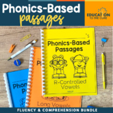 Phonics Based Reading Comprehension Passages, Fluency Passages