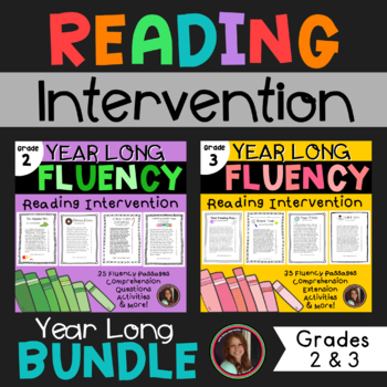 Fluency and Comprehension Reading Intervention Bundle for Grades 2 & 3