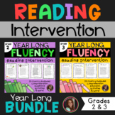 Fluency and Comprehension Reading Intervention Bundle for
