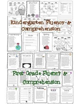 Fluency and Comprehension Reading Intervention Bundle for Grades K-5