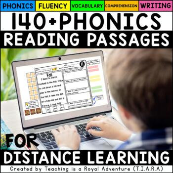 Reading Comprehension Passages: Phonics-Based (ALL YEAR)