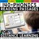 Phonics Reading Comprehension Passages and Questions (ALL YEAR)