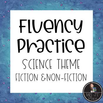 Fluency bundle Non-Fiction Science Text