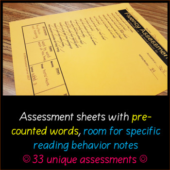 Fluency for BIG kids- practice and assessment