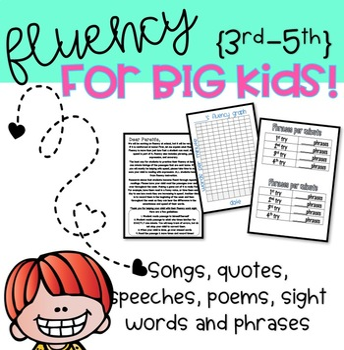 Fluency for Upper Grades