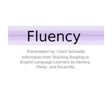 Fluency for second language Learners