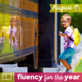 Fluency for the Year - August Packet