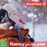 Fluency for the Year - December Packet
