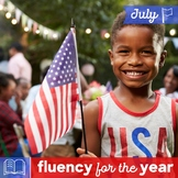 Fluency for the Year - July Packet