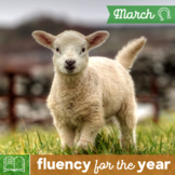 Fluency for the Year - March Packet