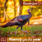 Fluency for the Year - November Packet