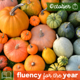 Fluency for the Year - October Packet
