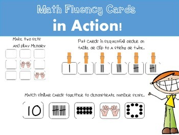 Fluency in a Flash! {Math Cards}