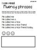 Fluency phrases practice- (first half of bundle)