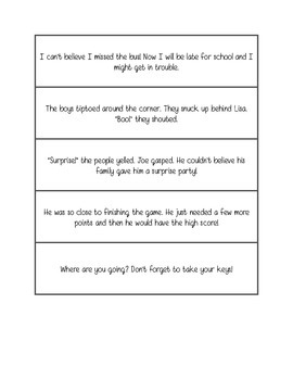 Fluency practice - emotions