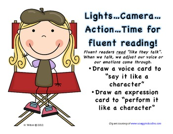 Fluency practice for students