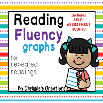 Fluency graph for repeated readings and self assessment fl