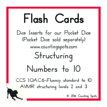 Fluency to 10 & Math Symbols (180 different cards)
