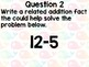 Fluency to 20 (Addition and Subtraction) Morning Review Questions