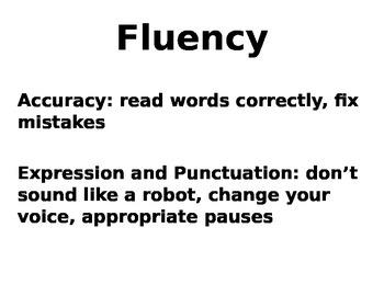 Fluency - what is it?