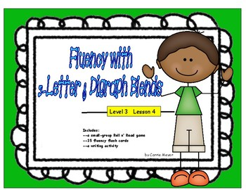 Fluency with 3-Letter & Digraph Blends: Level 3 Lesson 4