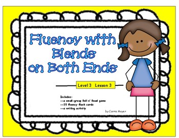 Fluency with Blends on Both Ends: Level 3 Lesson 3
