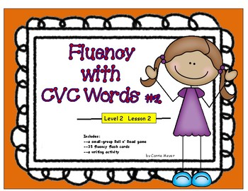Fluency with CVC Words #2: Level 2 Lesson 2