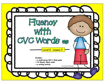 Fluency with CVC Words #3: Level 2 Lesson 3