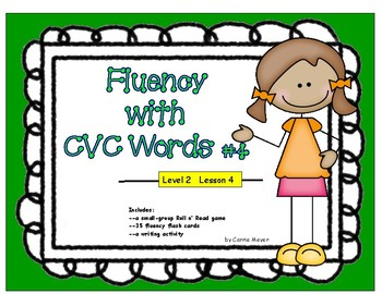 Fluency with CVC Words #4: Level 2 Lesson 4