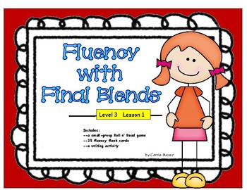 Fluency with Final Blends: Level 3 Lesson 1