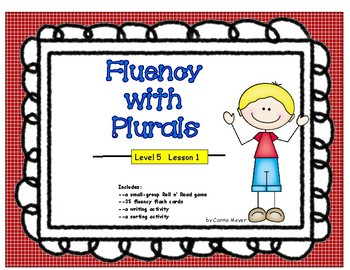 Fluency with Plurals: Level 5 Lesson 1