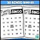 Fluency within 20 BINGOS
