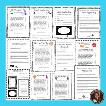 Reading Intervention Fluency Passages & Comprehension - 1st Grade Level