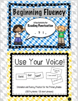 Fluency and Intonation - Bundle (Primary Level)