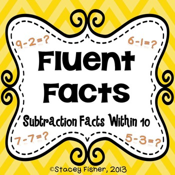 Fluent Facts-Practice for Addition and Subtraction Facts Within 10