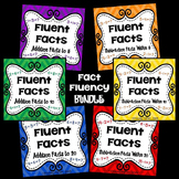 Fluent Facts-Practice for Addition and Subtraction Facts within 5, 10, and 20