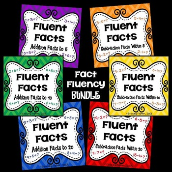 Fluent Facts-Practice for Addition and Subtraction Facts w