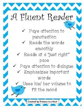 Fluent Reader Checklist