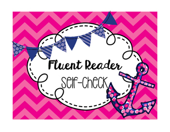 Fluent Reader Self-Check Freebie