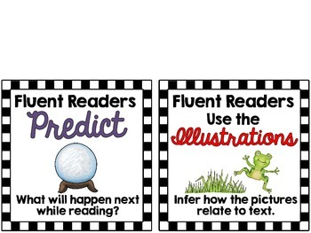 Fluent Readers Posters