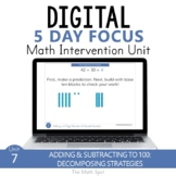 Fluently Add and Subtract to 100  | 2nd Grade Digital Math Unit