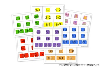 Fluently Add/Subtract within 5 Candyland