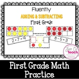 Fluently Adding and Subtracting {First Grade}
