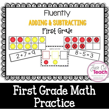 Fluently Adding and Subtracting: First Grade